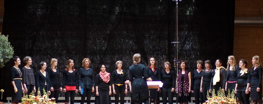 Damenchor Chursued: Juni 2011